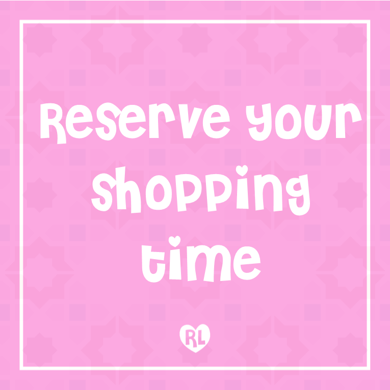 Reserve Your Shopping Time